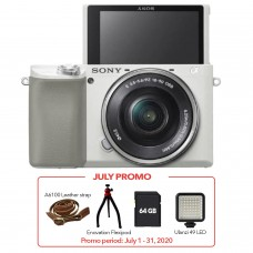 SONY ALPHA a6100 WITH 16-50MM KIT WHITE