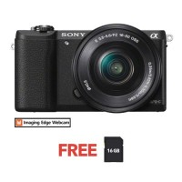 SONY ALPHA a5100 WITH 16-50MM KIT BLACK