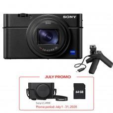 SONY DSC-RX100M7 DIGITAL CAMERA + BASE & SHOOTING GRIP