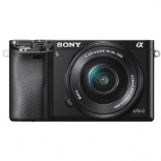 SONY ALPHA 6000 WITH 16-50MM F3.5-5.6 OSS (KIT) [ONLINE PRICE] [WITH FREE MEMORY CARD AND BAG]