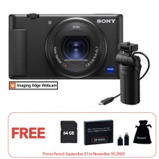 SONY ZV-1 DIGITAL VLOG CAMERA + VCT-SGR1 GRIP