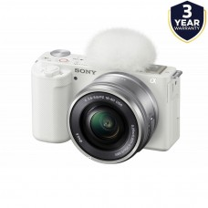 SONY ZV-E10 16-50MM VLOGGING CAMERA WHITE