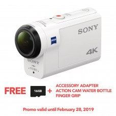 SONY FDR-X3000R 4K ACTION CAM W/ WIFI & GPS