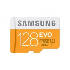 Samsung MicroSDXC EVO Memory Card w/ Adapter 128GB