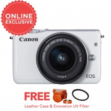 CANON EOS M10 with 15-45mm WHITE [ONLINE PRICE]