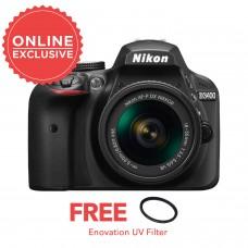 Nikon D3400 with 18-55mm KIT [ONLINE PRICE]