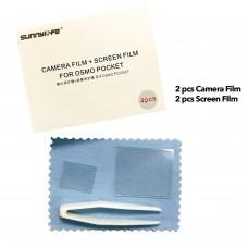 SUNNYLIFE DJI OSMO POCKET CAMERA FILM + SCREEN FILM