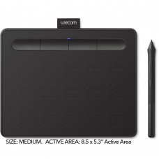 WACOM INTUOS MEDIUM CREATIVE PEN TABLET CTL-6100WL - BLACK