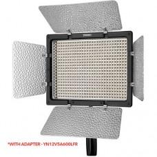 YONGNUO YN600L II PRO LED VIDEO LIGHT WITH ADAPTER