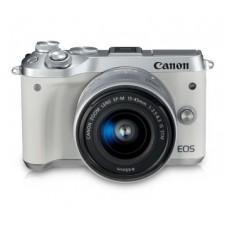 CANON EOS M6 BODY (W/ 15-45) White Kit [ONLINE PRICE]  [Free CP1300]