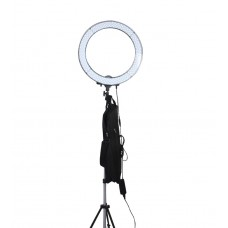 "Enovation 18"" Ring Light with Clip, Stand and Filter Set"