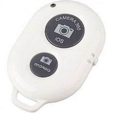 BLUETOOTH SELFIE REMOTE SHUTTER FOR MOBILE (WHITE) [CLEARANCE SALE / NO WARRANTY])